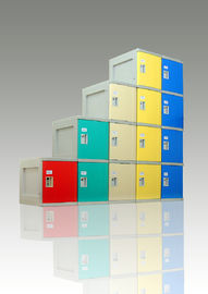 Keyless Security ABS Plastic Lockers For Employee, Water Resistant smart Lockers